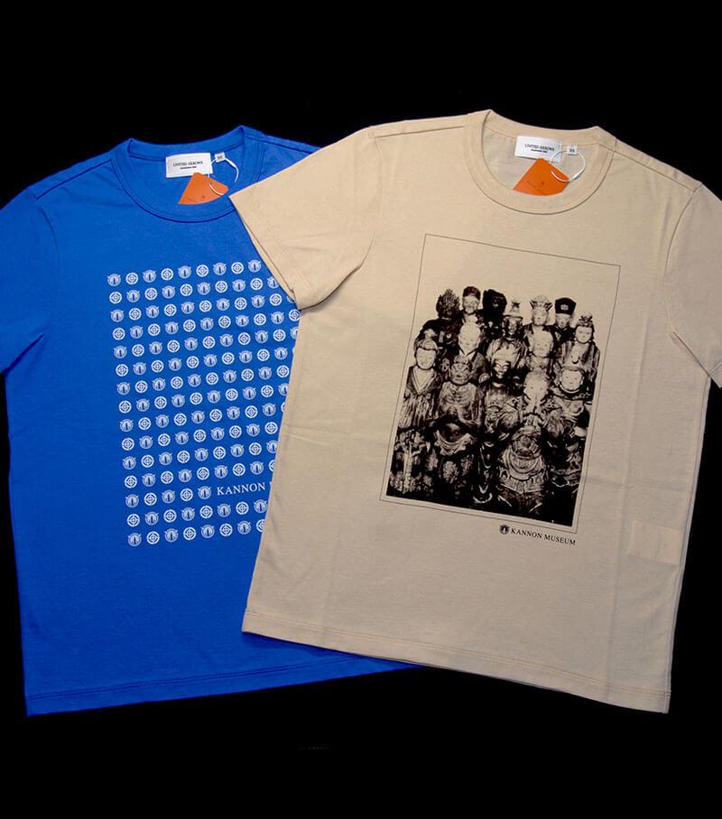 UNITED ARROWS × 観音ミュージアム コラボTシャツ