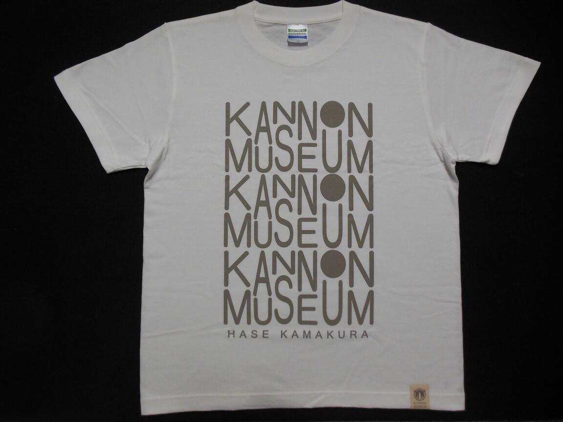 観音ミュージアムオリジナルデザインTシャツ 白