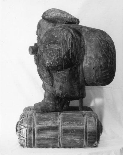 木造 大黒天立像(応永19年〈1412〉銘) 【修理後】左側面