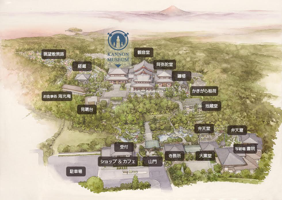 長谷寺外観図