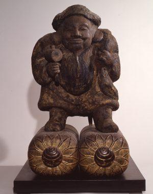 木造 大黒天立像(応永19年〈1412〉銘)