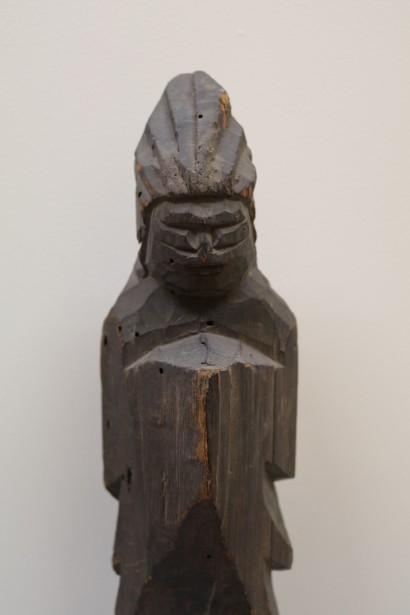 《護法童子像》円空作 江戸時代 17世紀