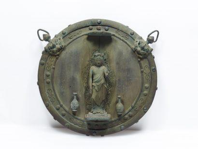 十一面観音懸仏 文永元年(1264) 重文
